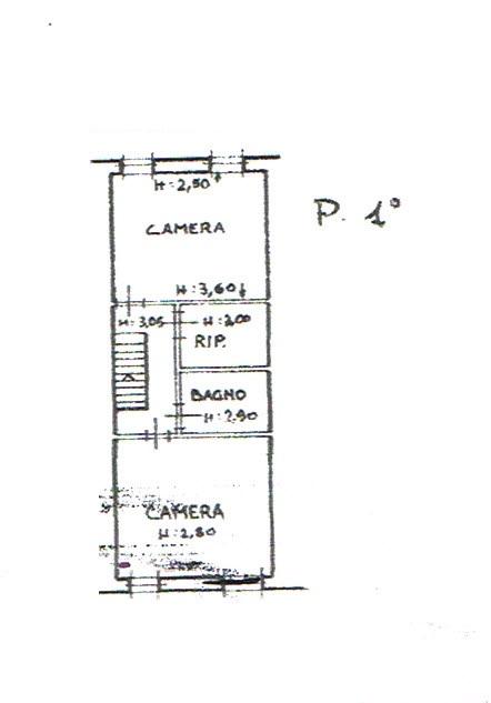 Planimetria 2/2 per rif. 2827