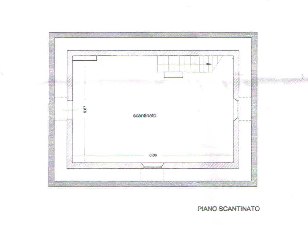 Planimetria 2/2 per rif. 2831
