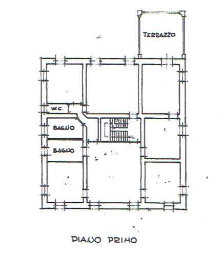 Planimetria 2/4 per rif. 2836