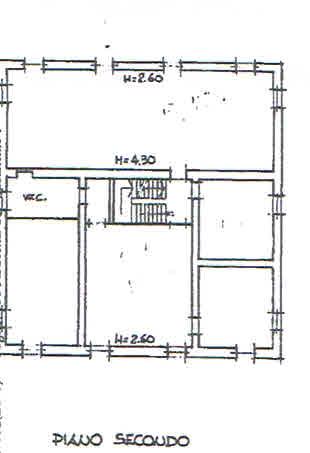 Planimetria 3/4 per rif. 2836