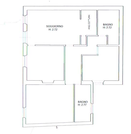 Planimetria 1/2 per rif. 2843