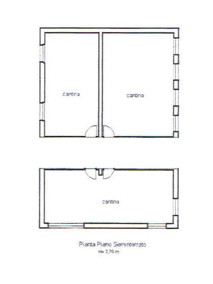 Planimetria 4/5 per rif. 2848