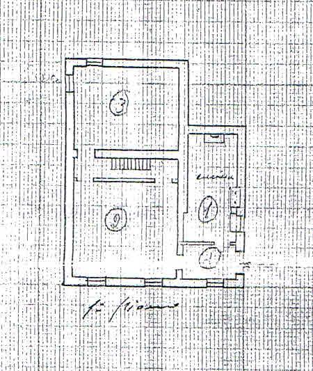 Planimetria 2/3 per rif. 2849