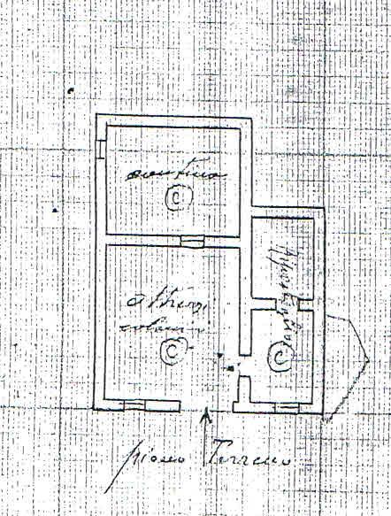 Planimetria 1/3 per rif. 2849