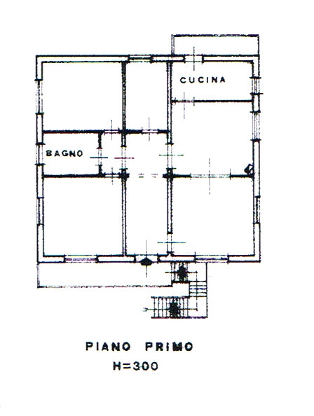 Planimetria 2/2 per rif. 2851