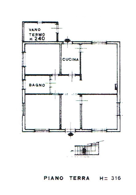 Planimetria 1/2 per rif. 2851