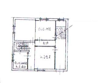 Planimetria 1/2 per rif. 2852