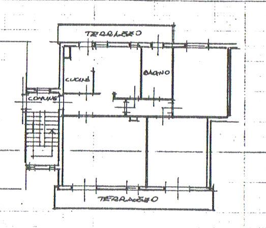 Planimetria 1/3 per rif. 2853