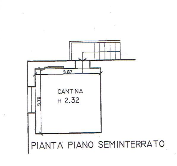 Planimetria 2/2 per rif. 2856