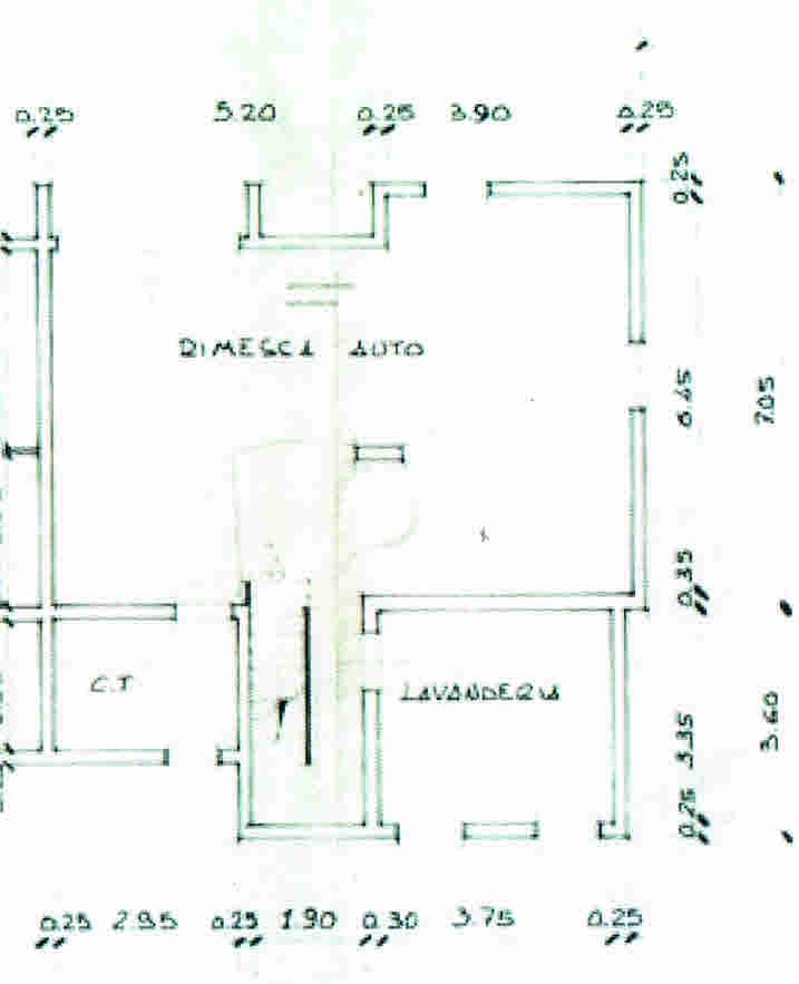 Planimetria 3/3 per rif. 2863