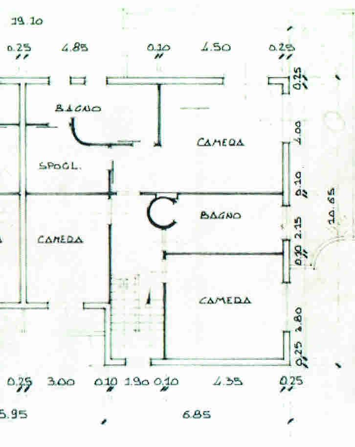 Planimetria 2/3 per rif. 2863