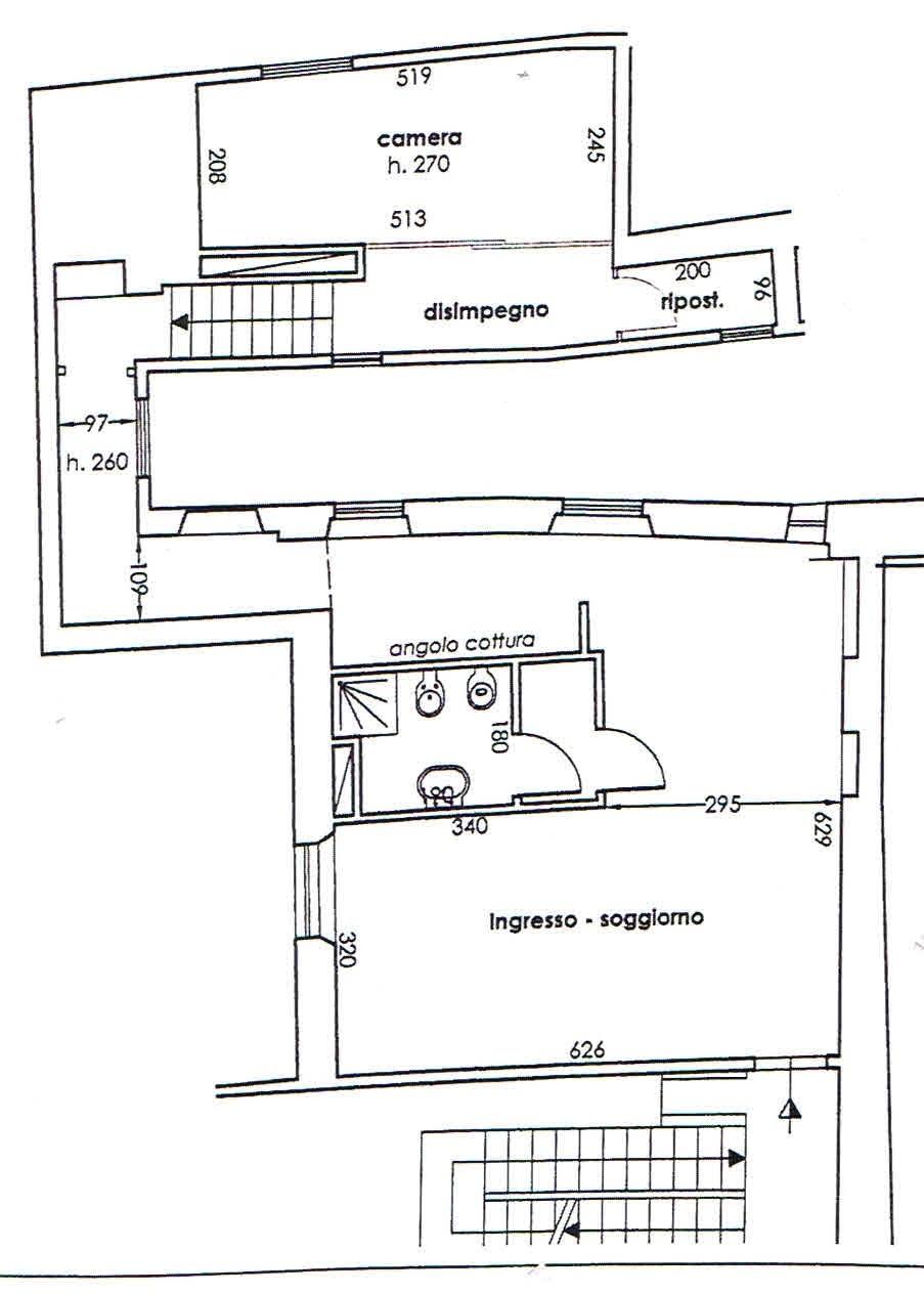 Planimetria 1/1 per rif. 2867