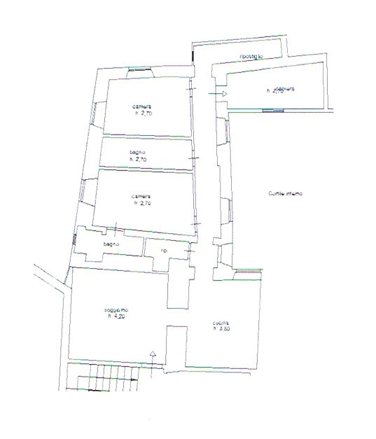Planimetria 1/1 per rif. 35