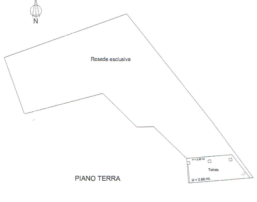 Planimetria 4/4 per rif. 2868