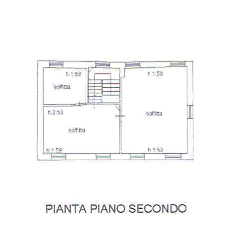 Planimetria 3/3 per rif. 2873
