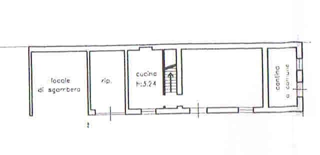 Planimetria 4/5 per rif. 2874