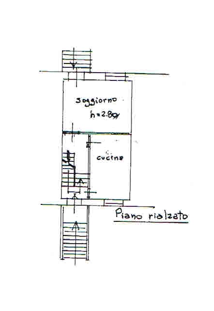 Planimetria 1/4 per rif. 2880