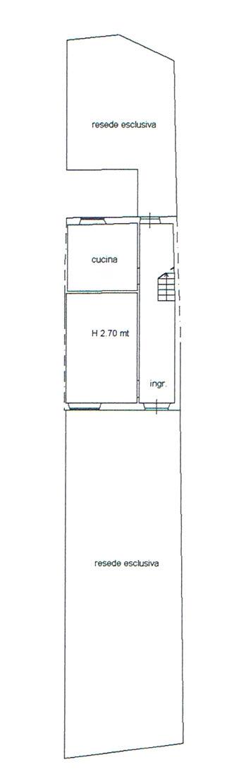 Planimetria 1/3 per rif. 2885