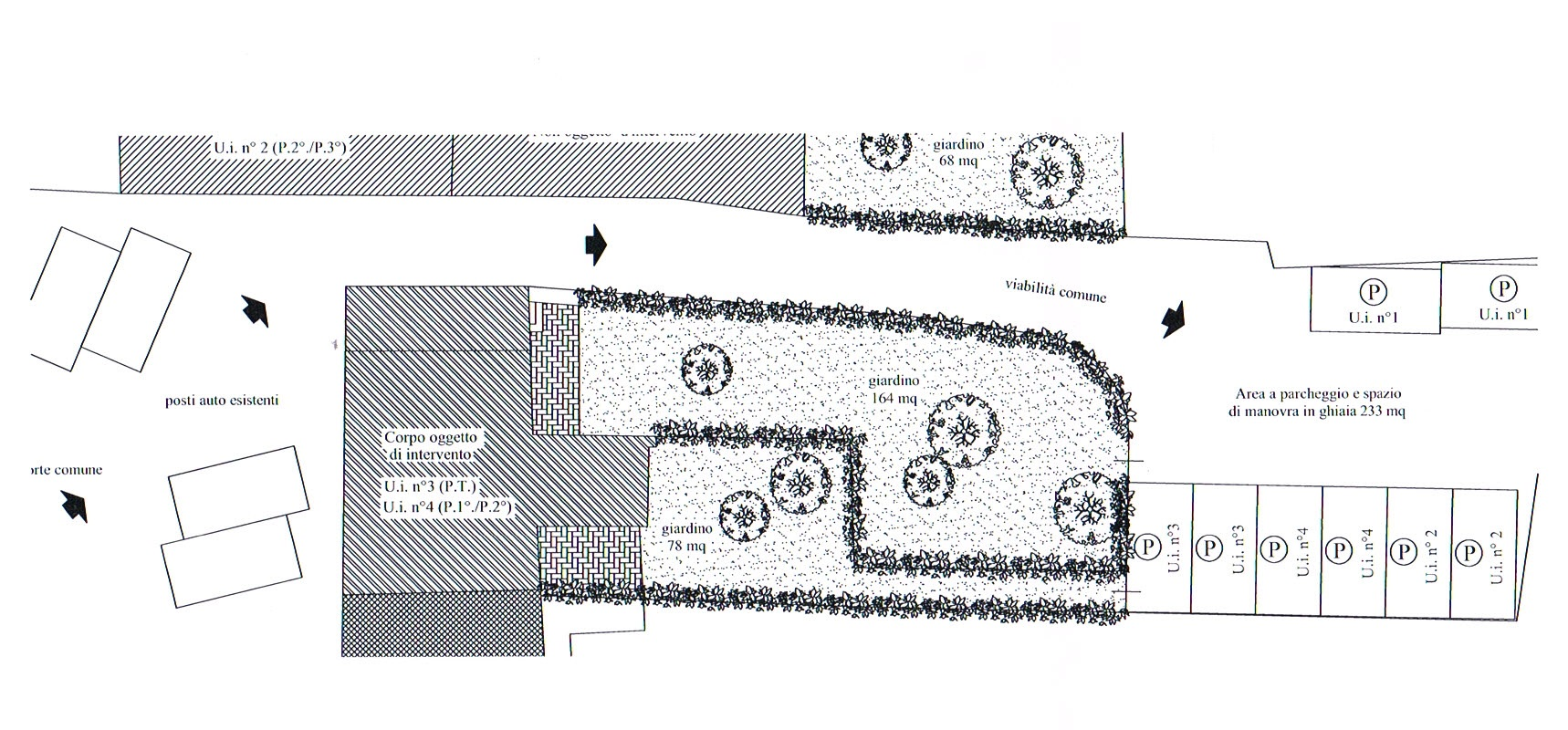Planimetria 2/2 per rif. 2886