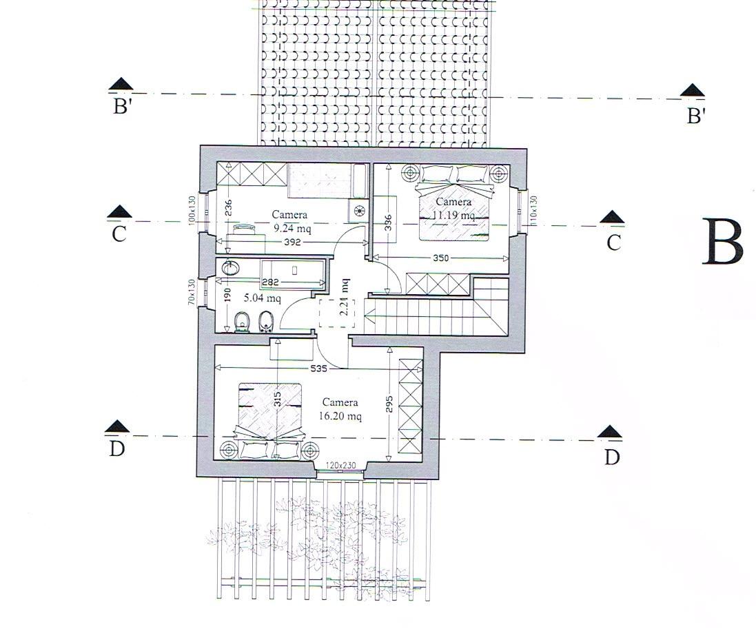 Planimetria 2/2 per rif. 2891
