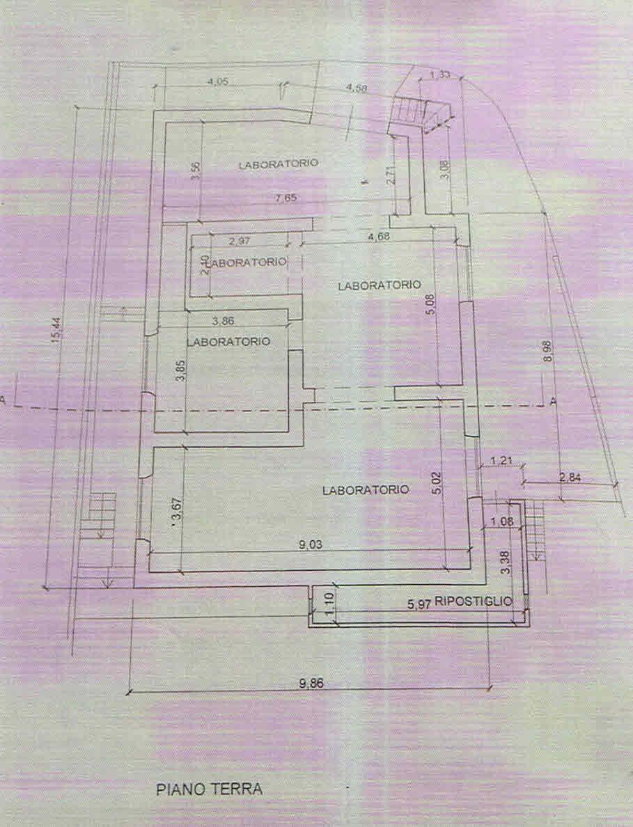 Planimetria 2/2 per rif. 2896