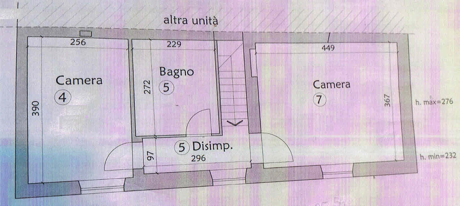 Planimetria 2/2 per rif. 2900
