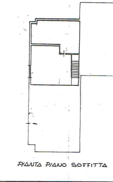 Planimetria 3/4 per rif. 2908