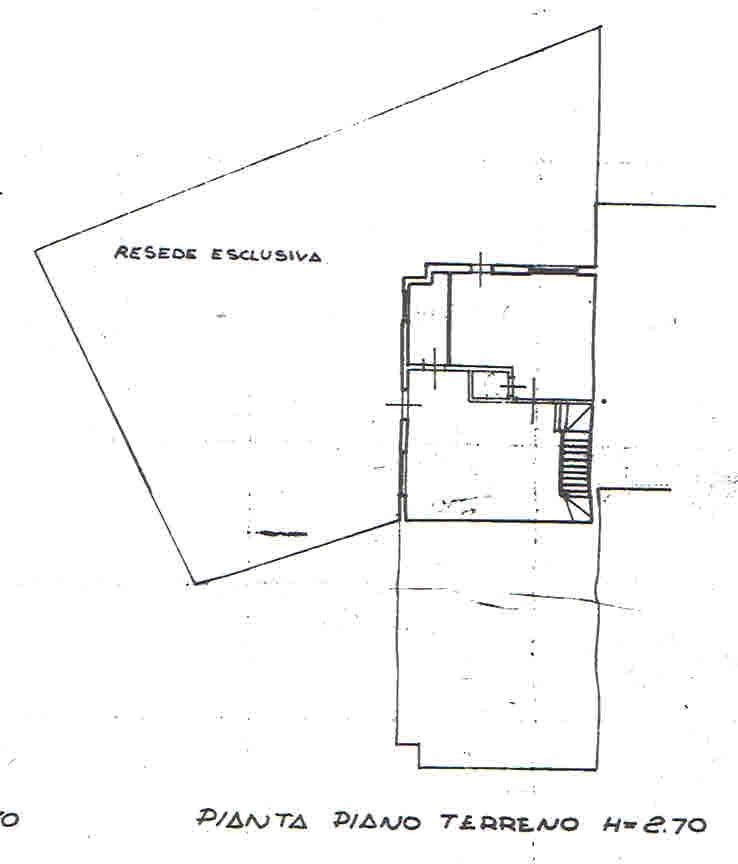 Planimetria 1/4 per rif. 2908
