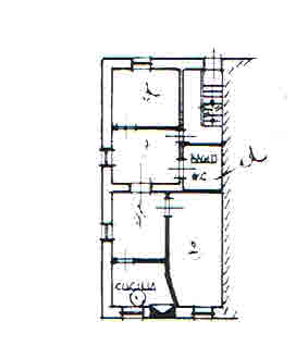 Planimetria 1/2 per rif. 2907