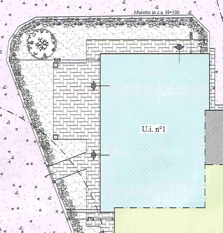 Planimetria 3/3 per rif. 2909