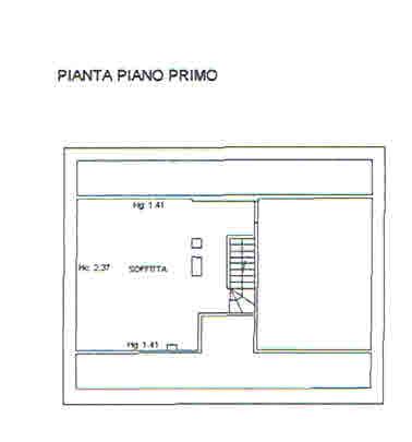 Planimetria 2/2 per rif. 2912