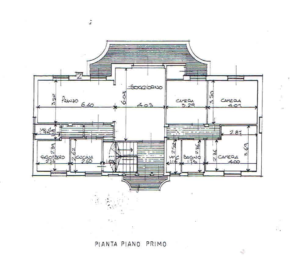 Planimetria 1/1 per rif. 2913