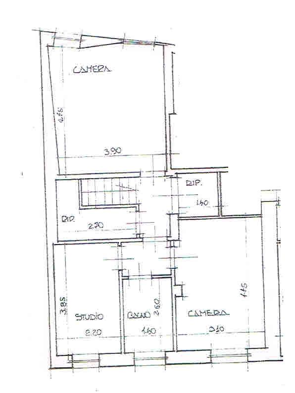 Planimetria 2/2 per rif. 2916