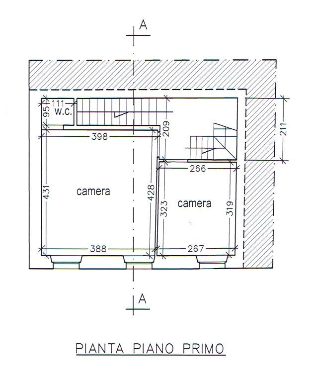 Planimetria 2/3 per rif. 2919