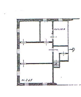 Planimetria 1/1 per rif. 2921