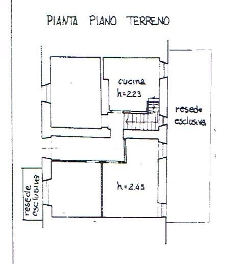 Planimetria 1/4 per rif. 2923