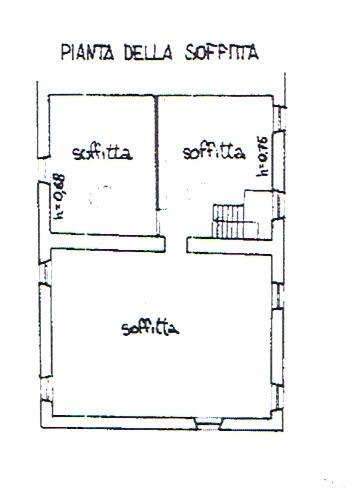 Planimetria 3/4 per rif. 2923