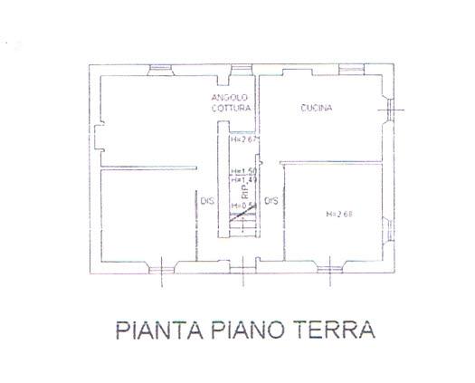 Planimetria 1/3 per rif. 2925