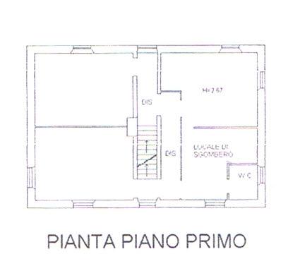 Planimetria 2/3 per rif. 2925