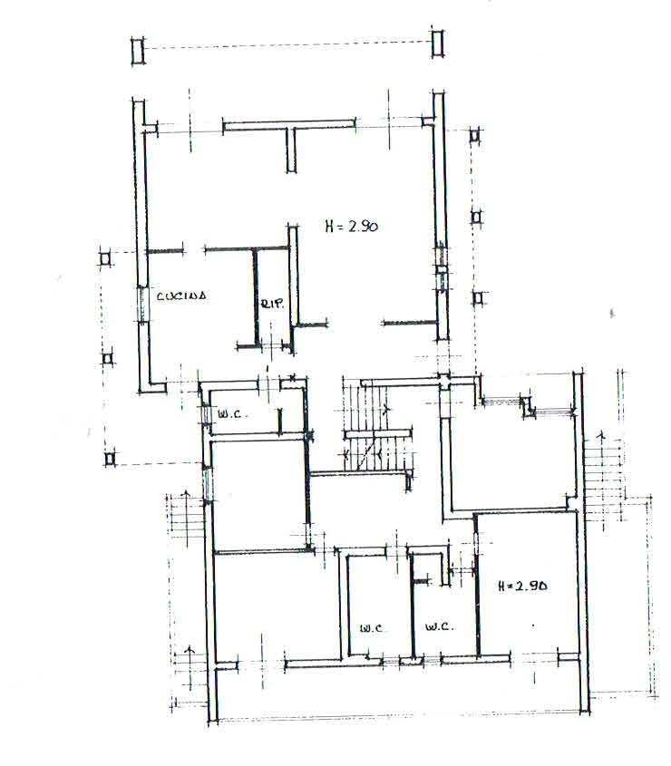 Planimetria 1/3 per rif. 2926