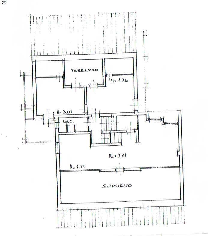 Planimetria 2/3 per rif. 2926