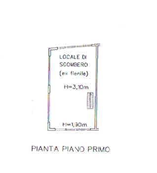 Planimetria 5/5 per rif. 2931