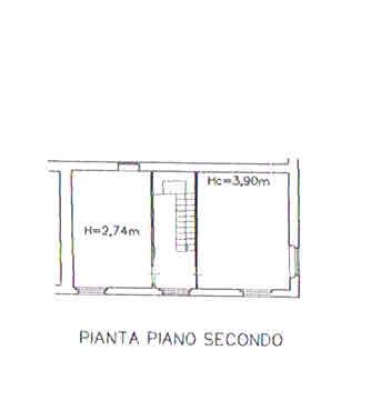 Planimetria 3/5 per rif. 2931