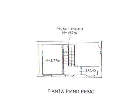 Planimetria 2/5 per rif. 2931