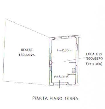 Planimetria 4/5 per rif. 2931