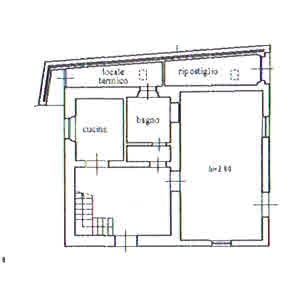 Planimetria 1/3 per rif. 2932