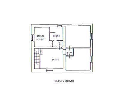 Planimetria 2/3 per rif. 2932