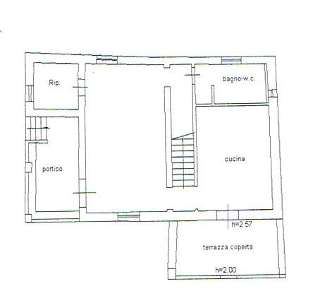 Planimetria 1/3 per rif. 2934