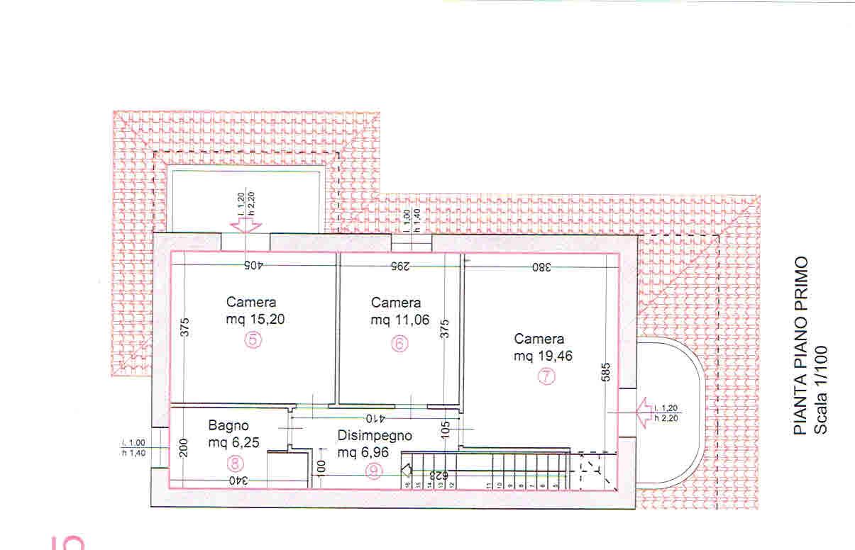 Planimetria 2/2 per rif. 2938