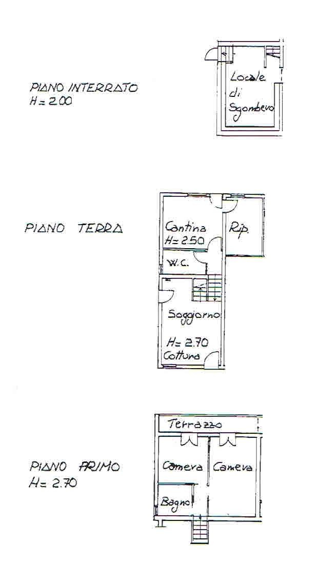 Planimetria 2/2 per rif. 2940